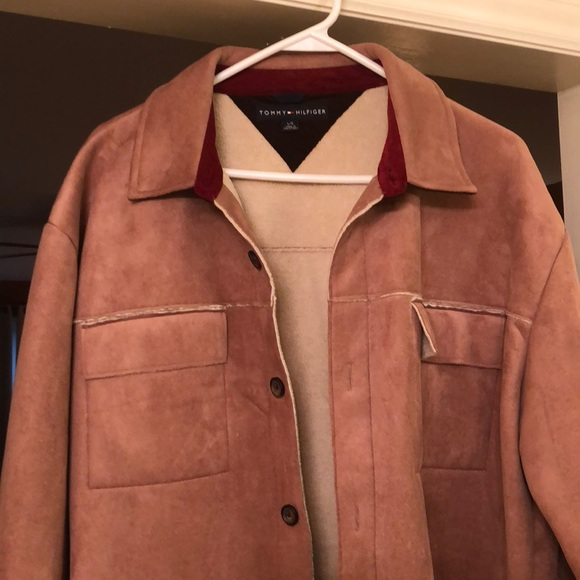 27c5a345 Men's Tommy Hilfiger suede jacket. M_5b9c3c48fe515130bff02955